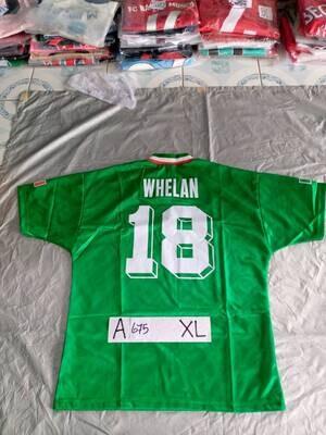 675 IRELAND MAGLIA CASA JERSEY HOME WHELAN 18 TAGLIA XL SIZE XL