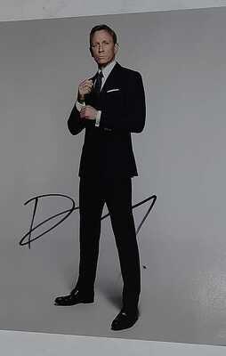 Foto Daniel Craig Daniel Wroughton Craig James Bond   Photo Daniel Craig Daniel Wroughton Craig James Bond   Signed Autograph Autografo Daniel Craig Daniel Wroughton Craig James Bond