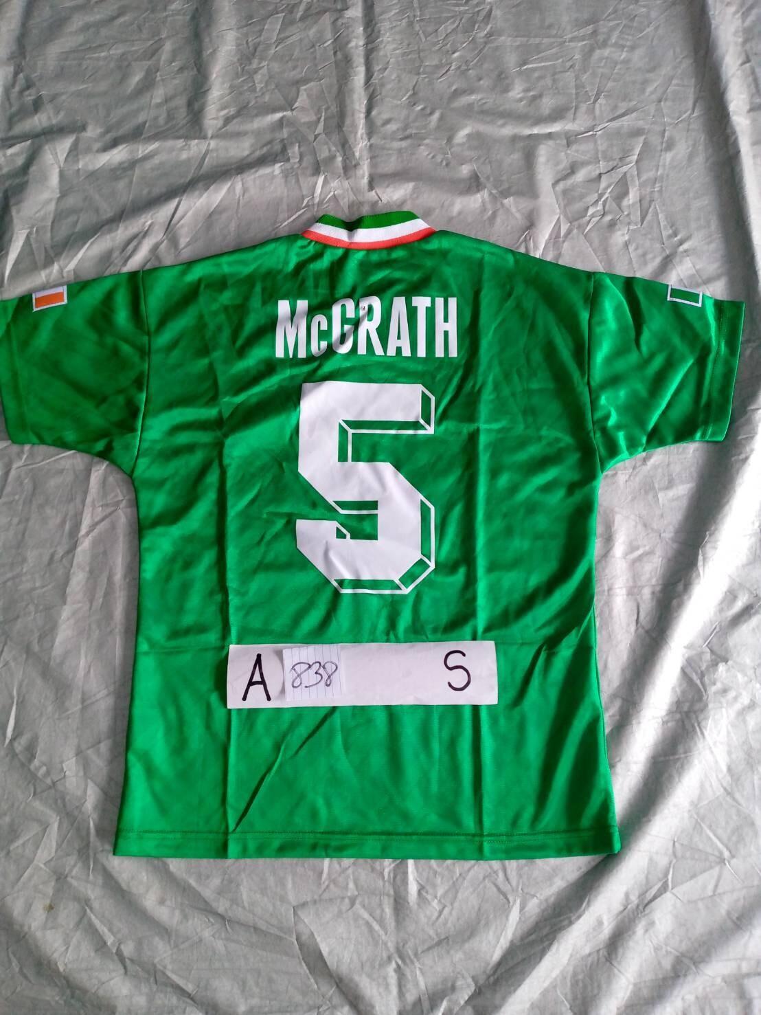 838 IRELAND MAGLIA CASA JERSEY HOME MCGRATH 5 TAGLIA S SIZE S