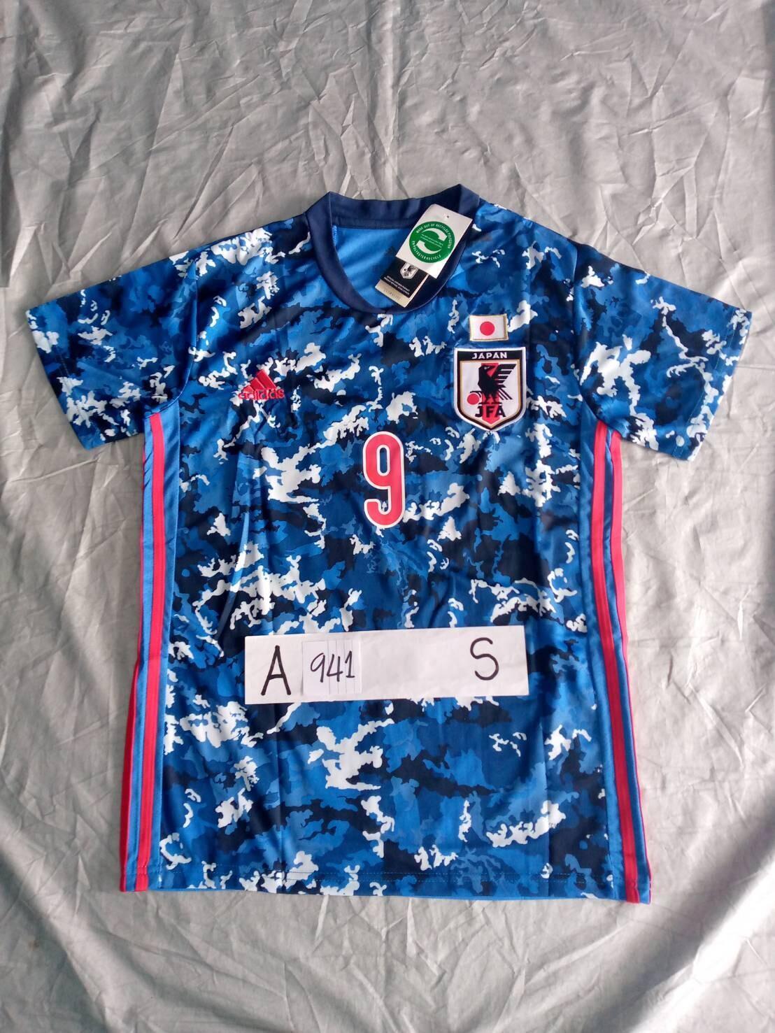 941 MAGLIA GIAPPONE JAPAN MAGLIA CASA JERSEY HOME MINAMINO 9 TAGLIA S SIZE S
