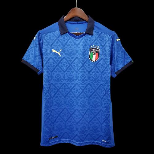 ITALIA ITALY MAGLIA CASA JERSEY HOME EUROPEI 2021