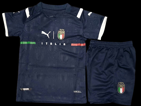 ITALIA ITALY KIT BAMBINO KIT KITS CASA HOME 2021 2022 PORTIERE GOALKEEPER