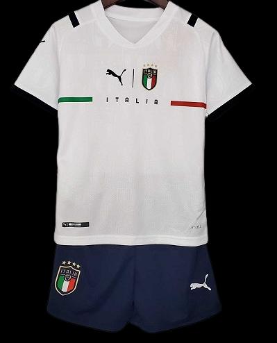 ITALIA ITALY KIT BAMBINO KIT KITS TRASFERTA AWAY 2021 2022