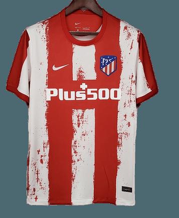 ATLETICO MADRID  MAGLIA CASA  JERSEY HOME 2021 2022 VERSIONE FAN VERSIONE TIFOSI ATHETICO MADRID