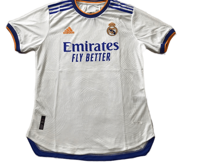 REAL MADRID MAGLIA CASA  JERSEY HOME 2021 2022 VERSIONE PLAYER VERSION PLAYER MATCH