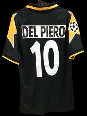 JUVENTUS 1996 DEL PIERO 10 ALESSANDRO PLAYER VERSION