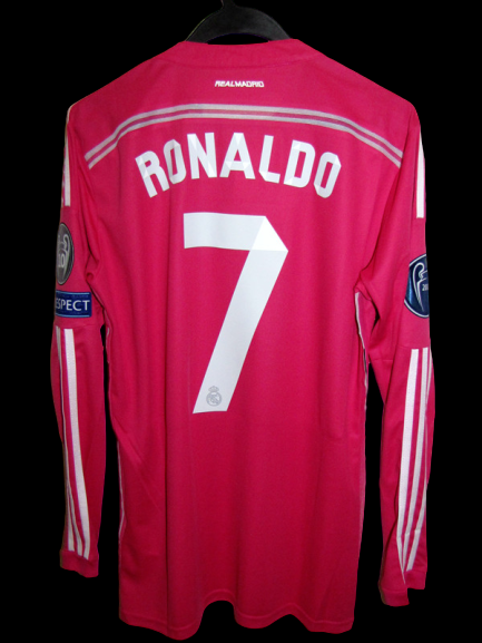REAL MADRID MAGLIA JERSEY REAL CRISTIANO RONALDO CR7 PLAYER VERSION MATCH VERSION WORN ISSUE