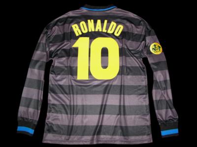 INTER COPPA UEFA 1997 PLAYER VERSION RONALDO 10