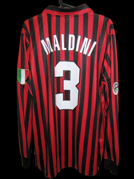 MILAN CENTENARIO VERSION MATCH PAOLO MALDINI VERSION PLAYER