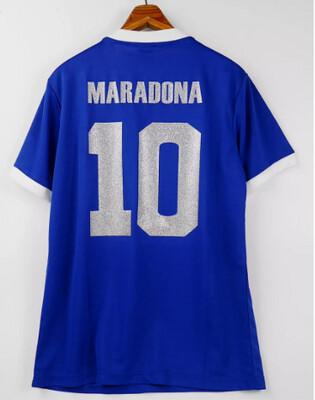 MARADONA 10 ARGENTINA AWAY WORLD CUP 1986  HAND OF GOD