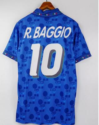 ITALIA WORLD CUP 1994 MAGLIA CASA JERSEY HOME  94 WORLD CUP BAGGIO 10