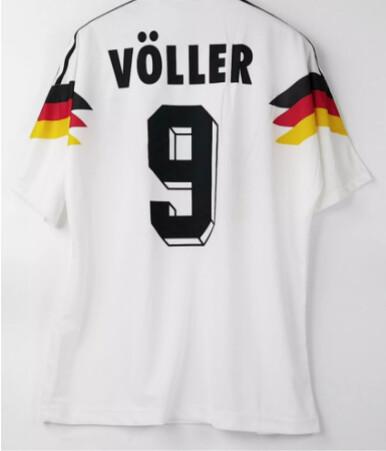 VOLLER 9 GERMANY WORLD CUP 1990 MONDIALI MAGLIA JERSEY MONDIALI 1990