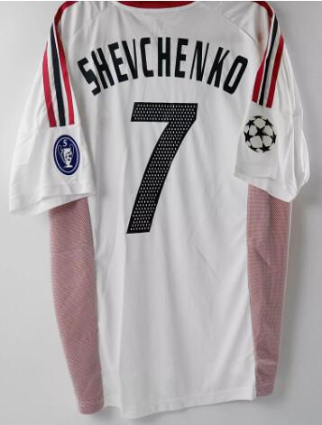 SHEVCHENKO MILAN FINALE CHAMPIONS 2003 SHEVA 7 FINALE MANCHESTER  2003 VS JUVENTUS