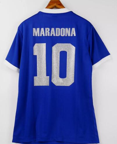 MARADONA 10 MAGLIA CASA ARGENTINA JERSEY HOME ARGENTINA  1986
