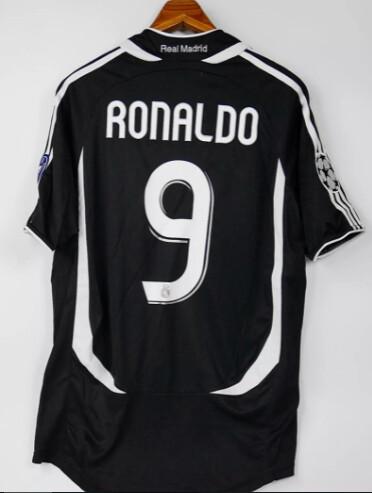 REAL MADRID MAGLIA TRASFERTA  ROBERTO RONALDO 9 2006 2007