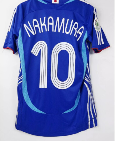 GIAPPONE WORLD CUP 2006 MAGLIA MONDIALI 2006 JERSEY WORLD CUP 2006 JAPAN NAKAMURA 10