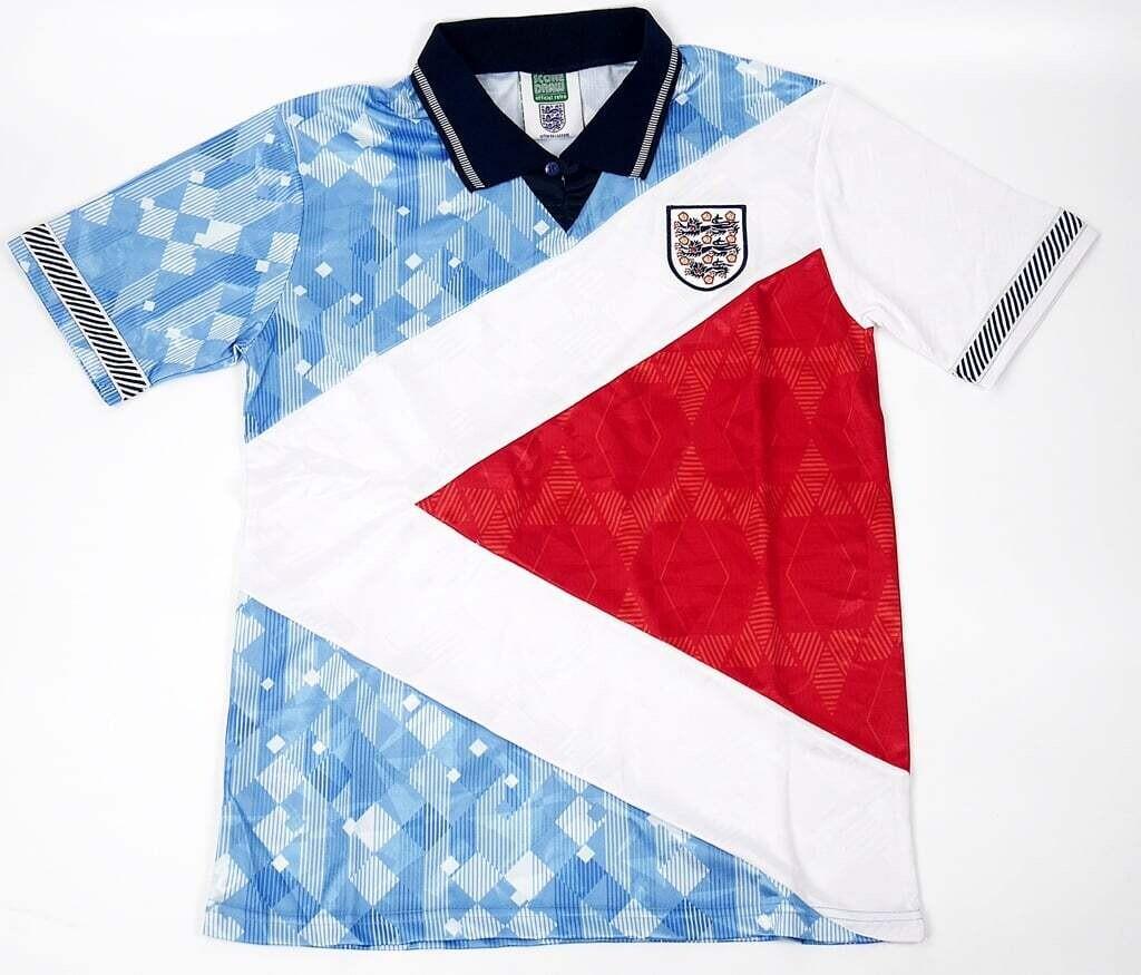 ENGLAND MASH UP 1990 MAGLIA INGHILTERRA MASH UP