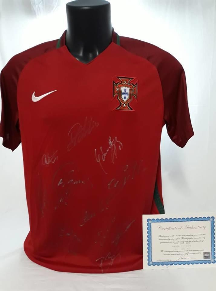 Teka Esposizione Exposure + Portogallo 2018 World Cup Autografata da tutta la Squadra  Signed all teams with COA Mondiali 2018 Portogallo