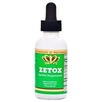 1 x Bottle of Zetox (30 day supply at 2 Full Droppers per day)
