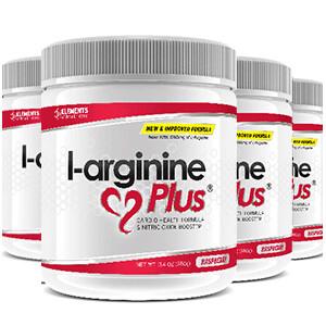 4 tubs of L-Arginine Plus™ (120 day supply) 2500 IUs of vitamin D3 – Choice of Raspberry or Lime Lemon