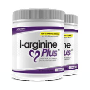 2 x tubs of L-Arginine Plus™ (60 day supply) 1000 IUs Vitamin D3 – Grape Flavour