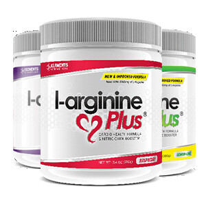 3 tubs of L-Arginine Plus™ (90 day supply) – One of each Grape, Lime Lemon and Raspberry Flavours