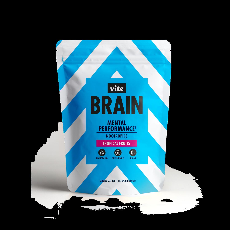 Vite Brain Drink (30 Serv.) - Tropical Fruits Flavour