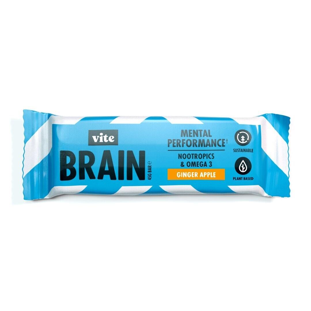 Vite Brain Bar (pack of 12) - Ginger Apple Flavour