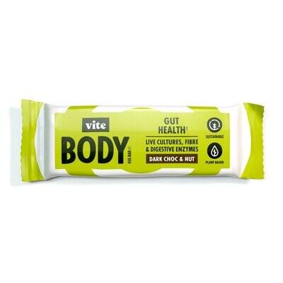 Vite Body Bar (pack of 12) - Dark Choc & Nut Flavour