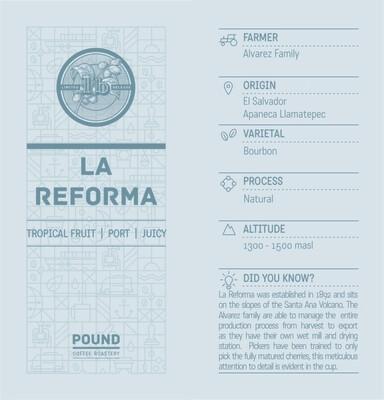 Limited Release El Salvador La Reforma - Filter
