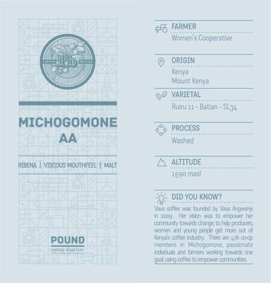Limited Release Kenya Michogomone AA - Espresso Roast