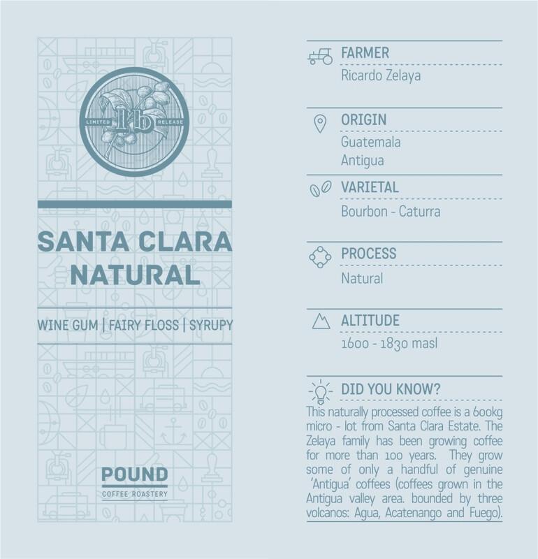Limited Release Guatamala Santa Clara Natural - Filter