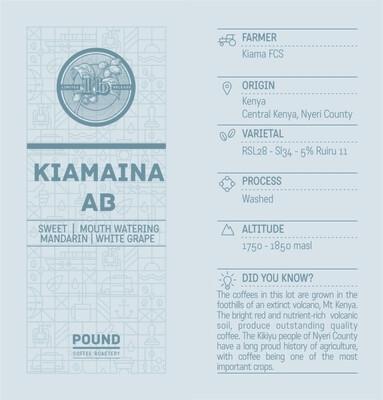 Limited Release Kenya Kiamaina AB - Filter