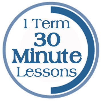 Term 3, 30 Minute Lessons