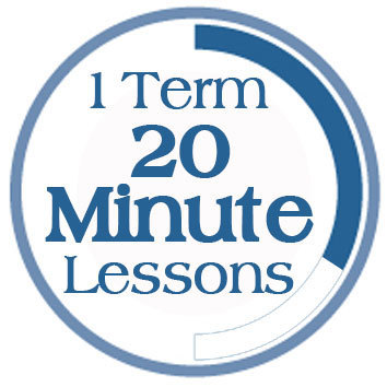 Term 3, 20 Minute Lessons