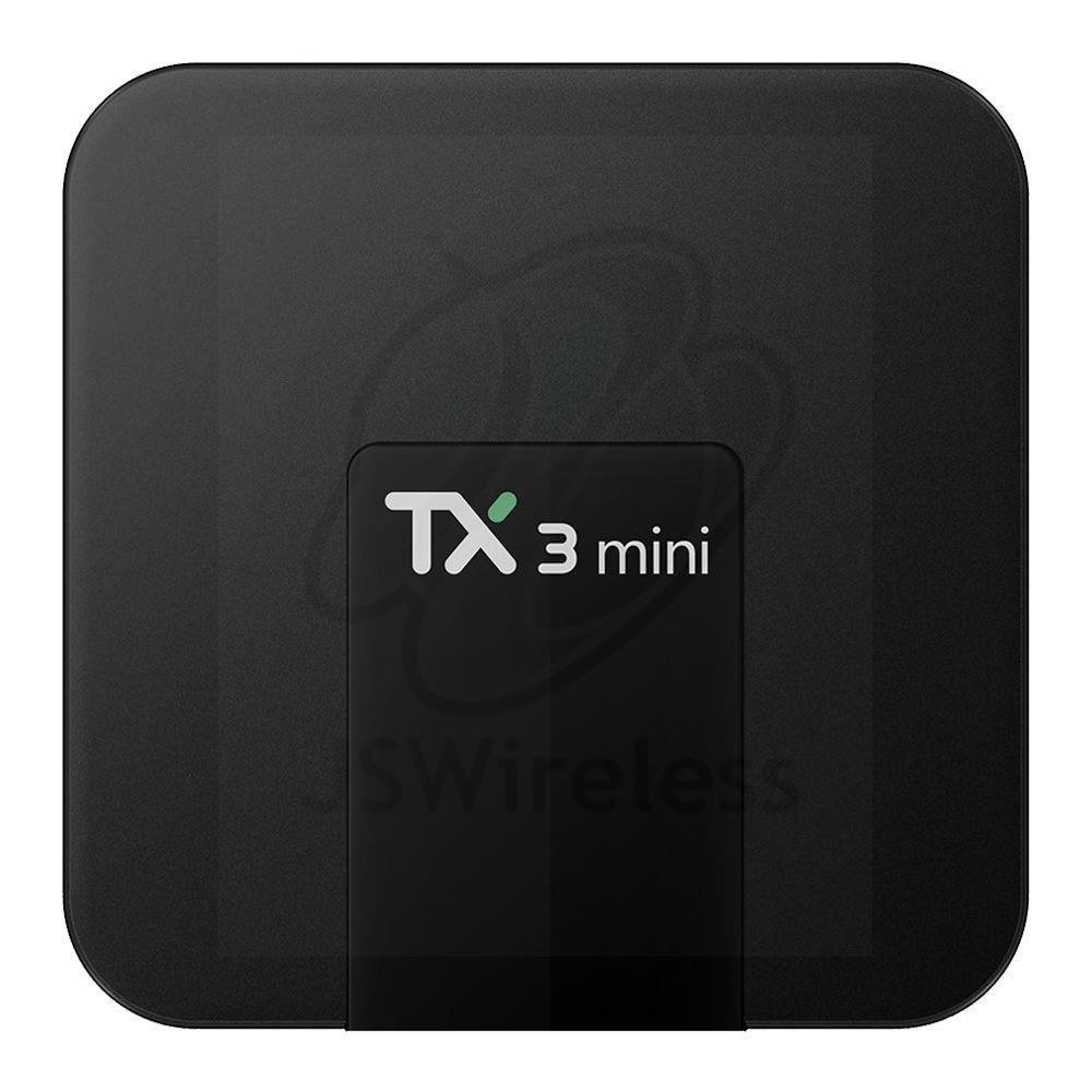 Tanix TX3 TV Box 4K Quad Core 64bit Amlogic S905W Android 8.1 Dual Band Wi-Fi