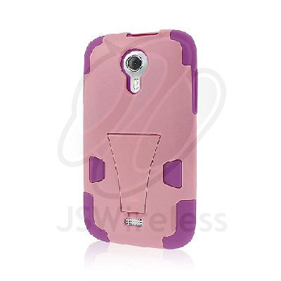 MPERO IMPACT X Series Kickstand Case for BLU Studio 5.0 - Pink