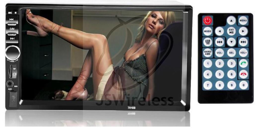 In Dash Car TouchScreen Bluetooth 2DIN Audio Stereo MP3 MP5 w/ SD/MMC Card Slot & USB 2.0 Port
