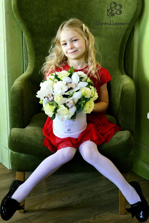 Цветы для принцесс в коробке №2