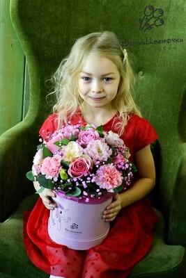 Цветы для принцесс в коробке №1