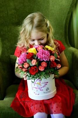 Цветы для принцесс в коробке №3