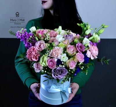 Цветы в коробке № 30