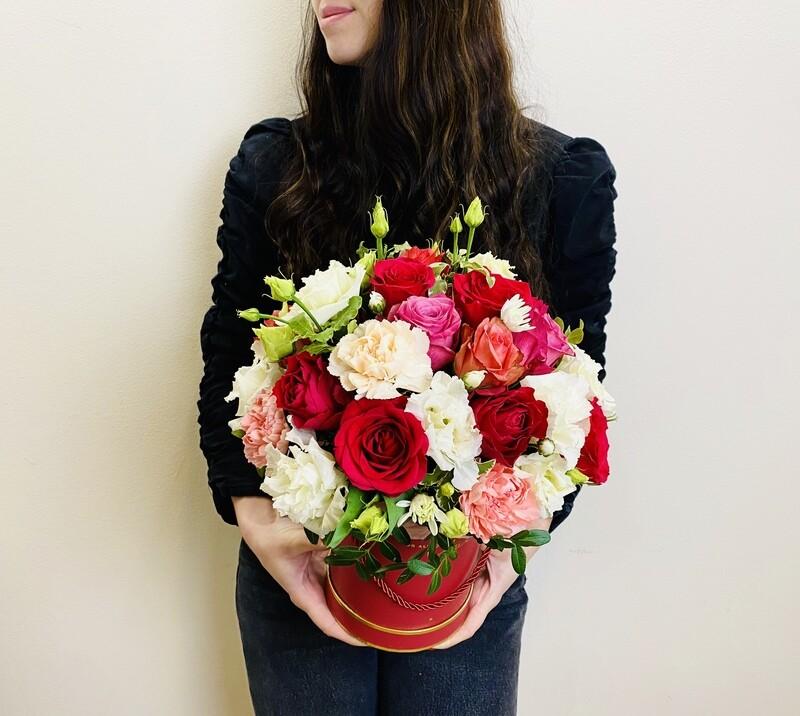 Цветы в коробке №31
