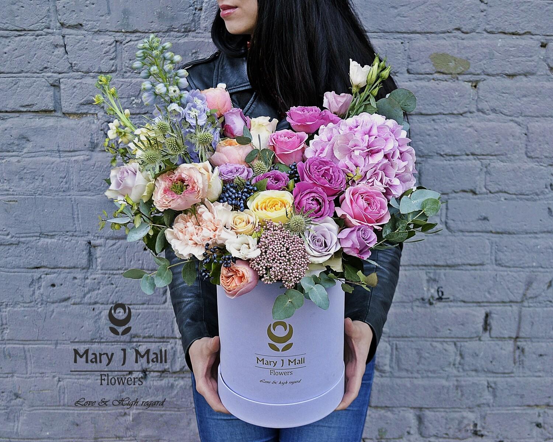 Цветы в коробке № 36