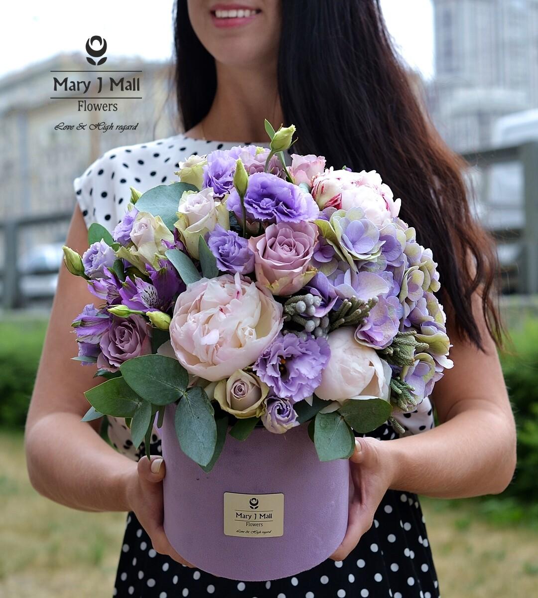 """Цветы в коробке """"Premium 11"""""""
