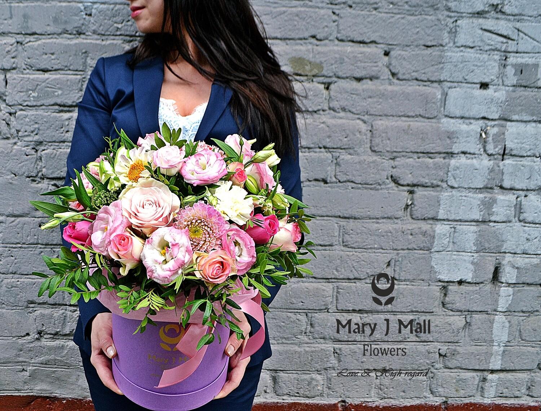 Цветы в коробке №45