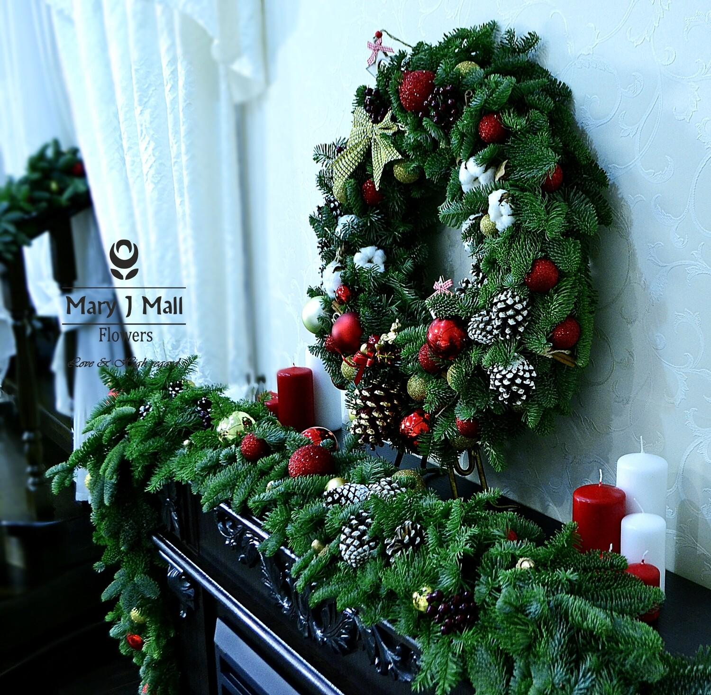 Рождественский веночек 35