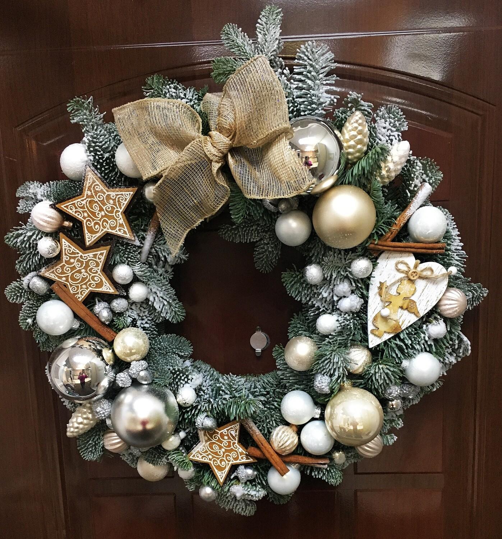 Рождественский веночек 25