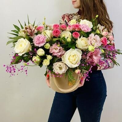 Цветы в коробке №33