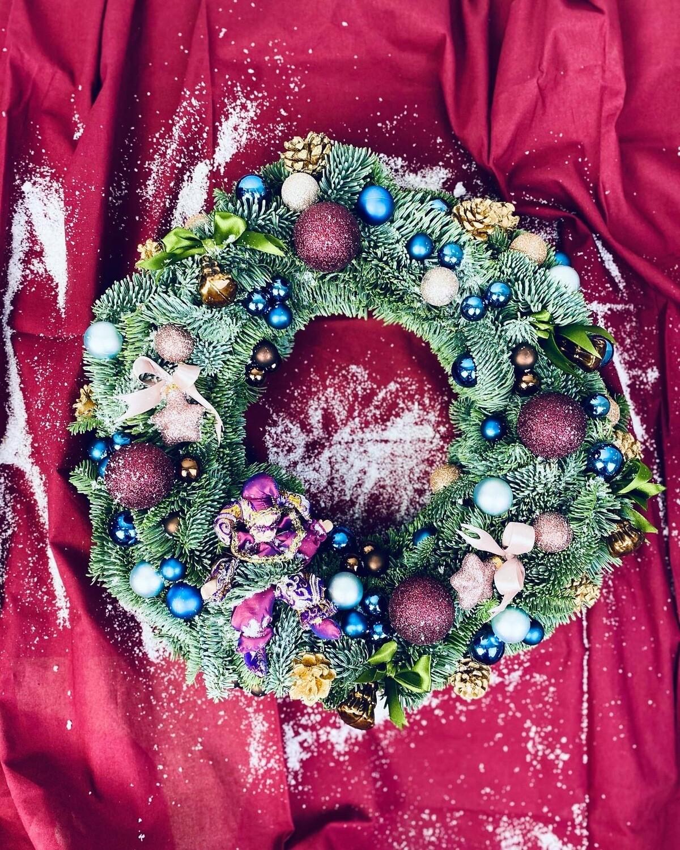 Рождественский веночек №25